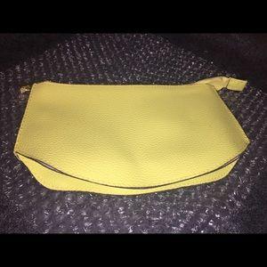 Estée Lauder PVC Faux Pebbled Leather Makeup Bag